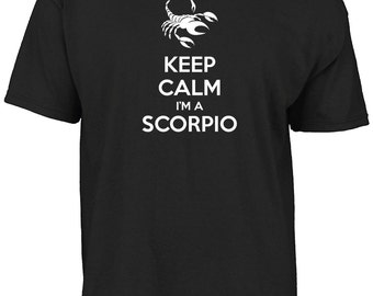 Keep calm I'm a Scorpio t-shirt