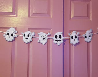 Halloween Ghost Garland