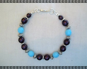 purple and blue bracelet, turquoise bracelet, blue and purple bracelet, purple bracelet, turquoise