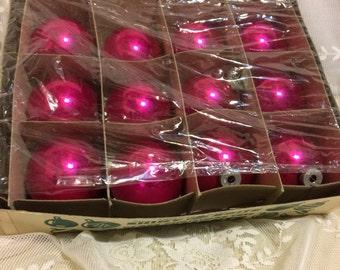 Dozen Shiny Brite Ornaments