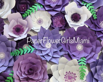 Giant paper flower backdrop (DM for order) customize the size and quantity