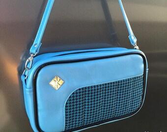 Glitter Retro Handbag • Sparkle Vintage Style Vinyl Bag • Metal Flake Rockabilly Purse • Psychobilly • Mini Boxer • Made in USA