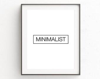 Prints for Wall Art, Minimalist Large Art, Large Wall Artwork, Art Prints, Minimalist Poster, Extreme Minimalism, Digital Download, Wall Art