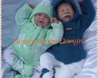 Dante Reborn Baby Knitting Pattern