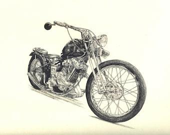 Custom Panther motorcycle