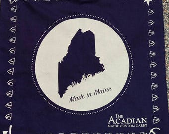 Made in Maine Bandanna by The Acadian