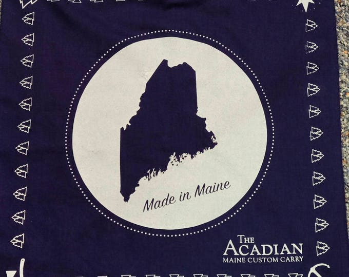 Featured listing image: Made in Maine Bandanna by The Acadian