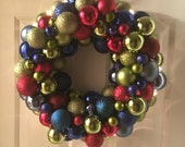 Multi Color Wreath with L...