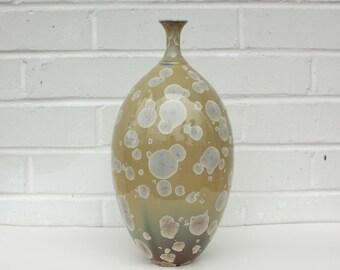Amber Bottle Vase