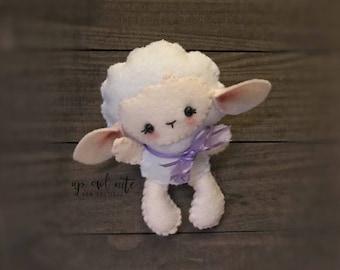 little lamb stuffie