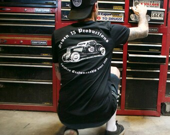 American Craftsmanship 1934 Coupe T-shirt by Seven 13 Productions