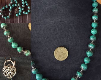 Necklace in Turquoise and Argento925