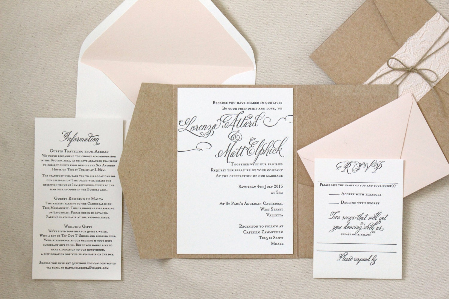 Enchanting Wedding Invites Abroad Mold Invitation Card