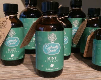 Pure Mint Baking Extract