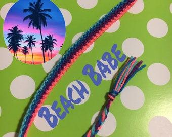 Long Stripes Friendship Style Bracelet