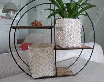 Storage Organization tidy storage linen gold for any home decor veronpiotcreation planter basket