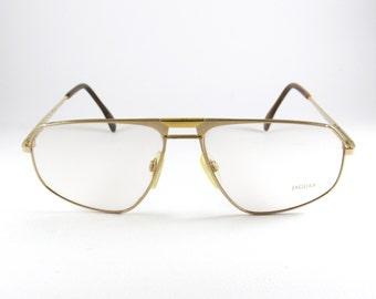 Vintage Glasses Frames, Jaguar 339-800, Mens Glasses, Vintage Sunglasses, 80s, Optical Frame, Mens Sunglasses, Gift for Him, Aviator Glasses