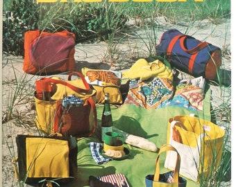 Lucy's Bag Book - Vintage Bag Making - 42 Special Purpose Bag Patterns - Dog Carrier Pattern -Wine Carrier Pattern -Picnic Bag Pattern  1978