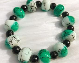 Paint Me Green Bracelet