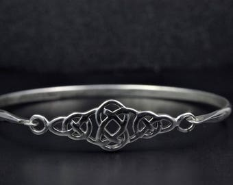 Celtic Design Sterling Silver Bracelet
