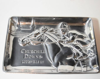 Arthur Court Churchill Downs Catch All Tray Arthur Court Designs Arthur Court Churchill Downs Serving Tray