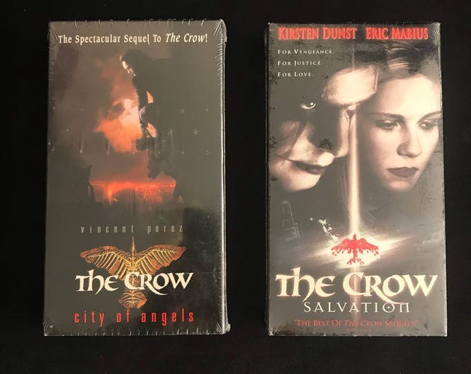 THE CROW 1990's Vintage Movie VHS