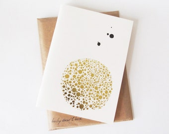 Dotted Gold Notebook
