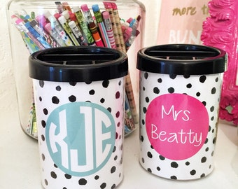 Pencil Cup, personalized pencil cup