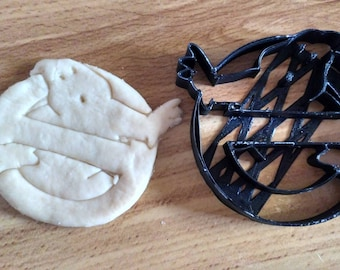 Ghostbusters Cookie Cutter, 10cm long, 4 inches long, 3D printed, Cooking, Parties