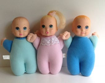 Vintage Cap Toys BUNDLE OF BABIES Dolls