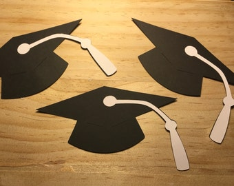 "18 5"" Graduation Cap - Paper Die Cut - High school grad - Place Cards - Name Tags - Graduation Party - Class of 2018 - College graduation"
