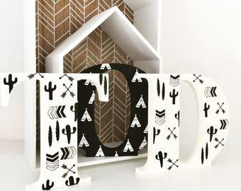 Wooden Letter Name Sets