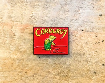 Corduroy Children's Book Enamel Pin