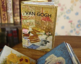Miniature book Van Gogh