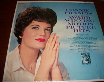 Connie Francis, Award Winning Motion Picture Hits, Vinyl LP, Nanas Vintage Shop