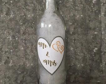 Wedding Wine Bottle