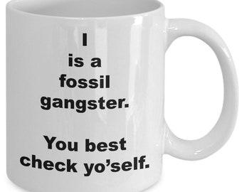 Fossil - Archeologist Gift - Fossil Mug - Archeologist Mug - Archeologist - Fossil Gift