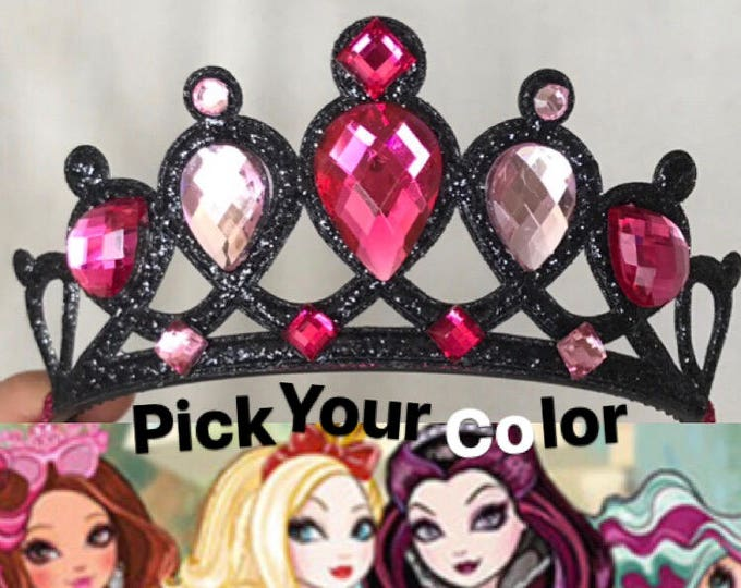 Ever after high Crown,Devil Crown,Witch Crown,Maleficent Crown,Evil Queen Crown,Snow White step mom,Witch Costume,Devil Costume,Demon Crown