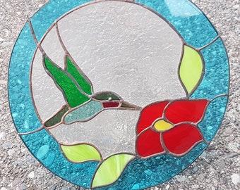 Gorgeous Hummingbird Suncatcher - Home Decor - Gift - Anniversary - Custom Color