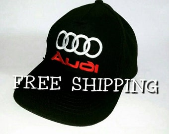 Audi caps hats embroidered | Audi LOGO hat embroidery caps | Baseball Caps hats men women.
