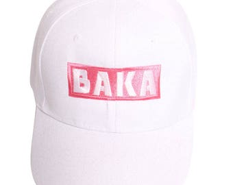 Baka (White) - Baseball Cap
