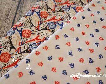 Waterproof Half yard(45cm*140cm)-Waterproof Sewing fabric--paris pattern