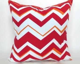 Outdoor Pillows Outdoor Pillow Covers Decorative Pillows ANY SIZE Pillow Cover Red Pillow Richloom Outdoor Tempest Geranium
