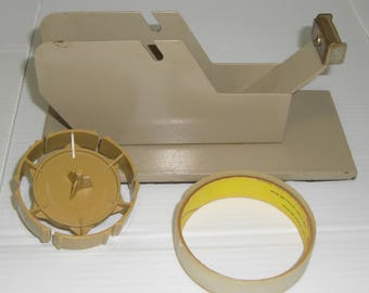 Vintage Collectible Desk Scotch-Type Tape Dispenser Ritzit Corp. Model G1