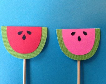 Watermelon Cake Toppers