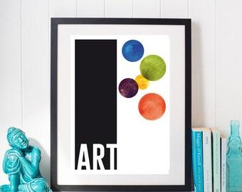 Affiche numérique - Art