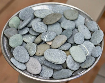 50 SMALL .75-2 inch Alaska River rock bulk - River stone - Wedding stones - Blessing stone - Painting stone - Stone art - 50 Small