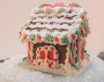 Miniature Gingerbread House 12th Scale
