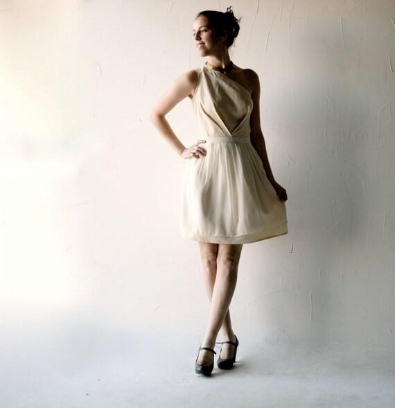 SAMPLE SALE Brautkleid kurzes Hochzeitskleid schlichtes