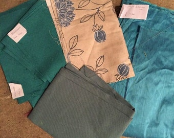 Fabric For Crafts - blue